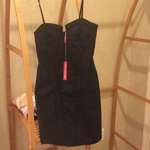 BRAND NEW Black Walter Baker Bustee Dress